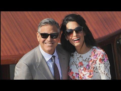 Everything Amal Alamuddin Wore On Her Wedding Weekend