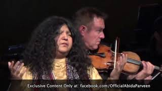 THE PILGRIMAGE by Abida Parveen and Sir John Kenneth Tavener