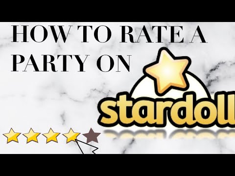 How rate a party - Come votare un party su Stardoll