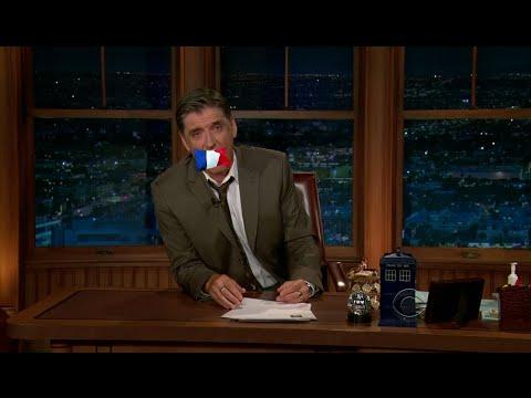 Late Late Show with Craig Ferguson 11/9/2011 Ellen Barkin, Dave Attell