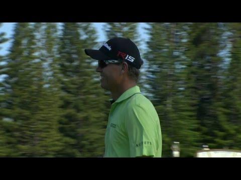 John Senden shows off his brilliant short game at Hyundai