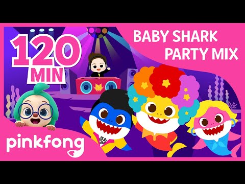 Download Lagu Baby Shark Party Remix   +Compilation   Halloween Party   Party Mix   Pinkfong Songs for Children.mp3