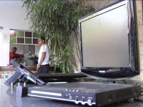 TV NORTE Polícia Civil recupera produtos de furto e ainda encontra pistola da Polícia Militar 21 06 12