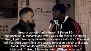 Amazing Vid   British-Angolan Footballer Converts to Muslim-Part 2 'LIVE'