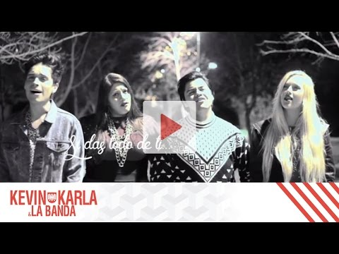 All Of Me (spanish Version) - Kevin Karla & La Banda Ft. Vesta & Dani Ride (lyric Video) video