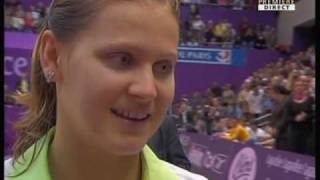 Safarova defeats Henin at Paris Indoors 2007