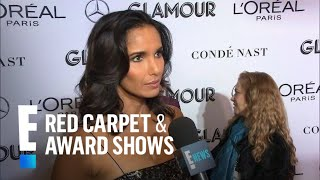 "Padma Lakshmi Supports USA Gymnastics Team at ""Glamour"" Awards 