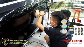 Rửa xe, đánh bóng sơn - Hướng dẫn học viên đến từ Bình Dương và Daknong