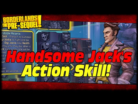 Borderlands Presequel Handsome Jack's Action Skill Leaked & I Predicted It! Handsome Jack DLC Leak!