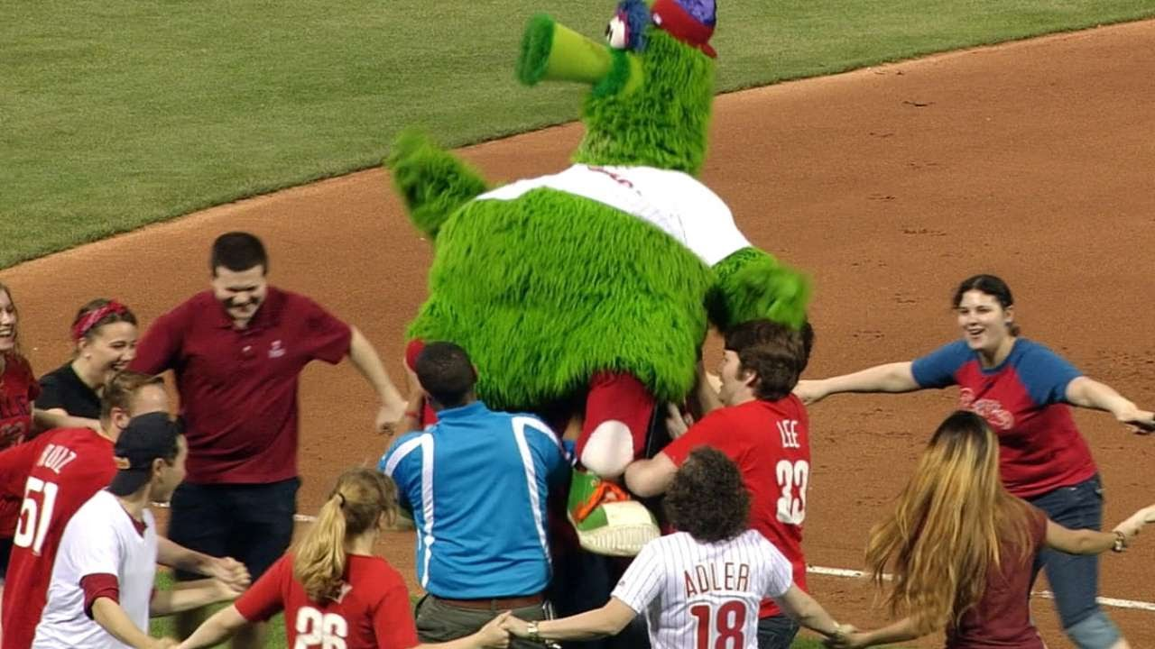 Philly Phanatic Friends Philly Phanatic Dances The