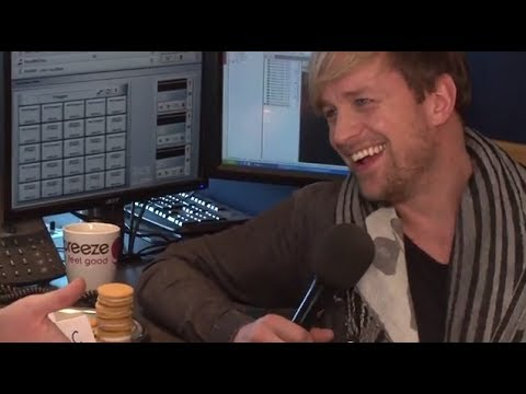 Kian Egan risks it for a Kimberley biscuit