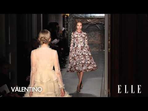 Défilé Valentino haute couture été 2013