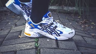 "10 CURIOSIDADES DO ASICS GEL-KAYANO 5 OG ""WHITE/BLACK"""