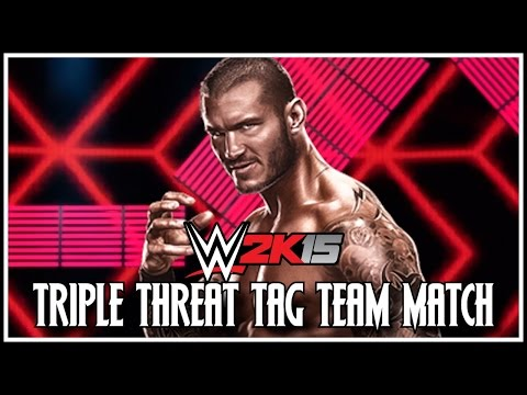 Wwe 2k15: New Match Type - Triple Threat Tag Team Match! (concept) video