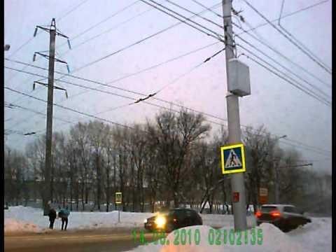 ДТП на пешеходке Пятилетки — Ломоносова