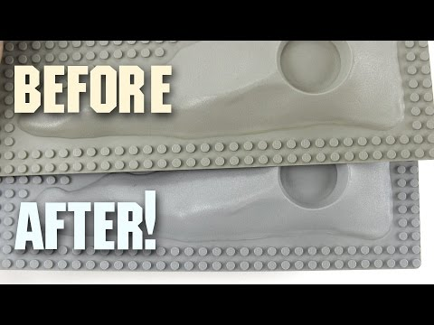 How to Restore Discolored LEGO Parts!