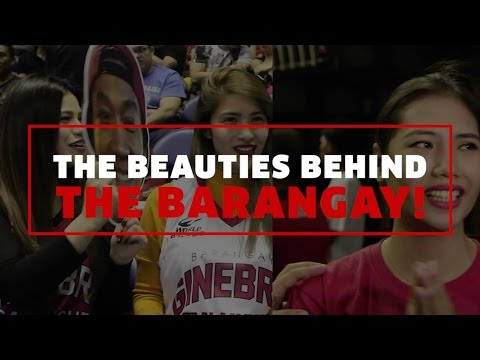 The Beauties Behind the Barangay | PBA Governor's Cup 2016
