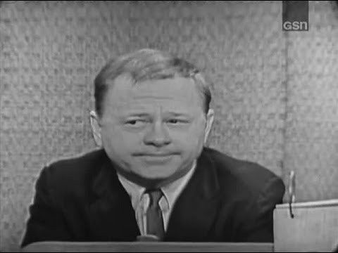 What's My Line? - Mickey Rooney; Martin Gabel [panel] (Dec 31, 1961)