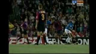 Barça Legends - Magical Rivaldo hat-trick in historical match against Valencia