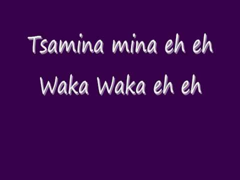 Waka Waka Lyrics - Shakira video