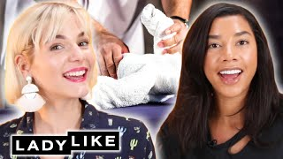 Devin Interviews Hannah Bronfman While Making Towel Animals • Ladylike