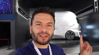 Trklerden otonom TIR Ford FVision Tesla Semiyi unu
