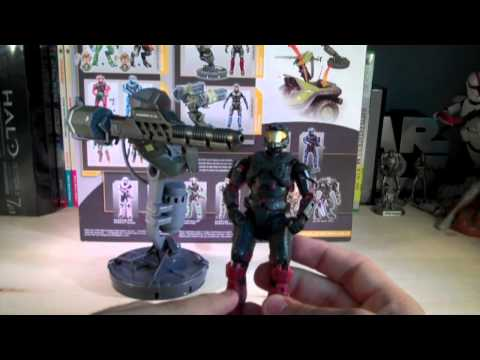 Halo Reach Series 3 Gauss Cannon & Spartan Operator (Vehicle Upgrade Pack) Review