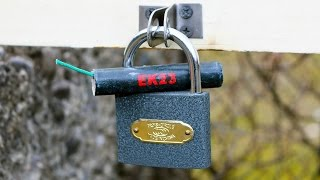 3 Ways To Open a Lock Without Key [NEW]