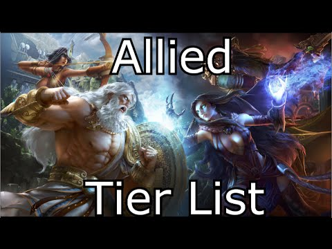 [EnVy] Allied - Smite Tier List