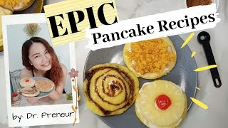 PANCAKE RECIPES | LOCKDOWN RECIPE| QUARANTINE RECIPE| BREAKFAST IDEAS
