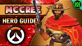 Overwatch: MCCREE Guide | Hero Abilities + Character Strategy | McCree Tips & Tricks