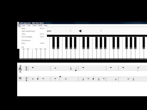 Free MIDI to Sheet Music Software