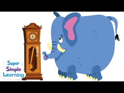 Hickory Dickory Dock From Super Simple Songs video