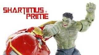 Marvel Legends Hulk and Hulkbuster Marvel Studios First 10 Years Avengers Age of Hulk 2 Pack Figure