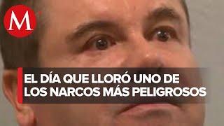 El Chapo lloró, DEA difunde video del día de la extradición