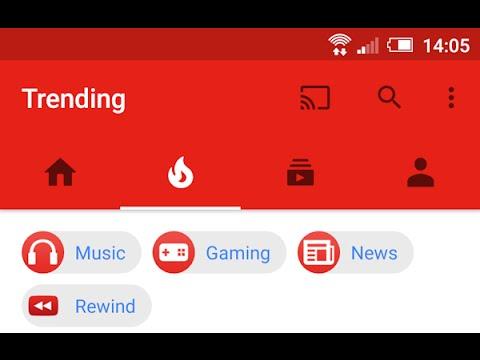 Youtube - Trending Videos