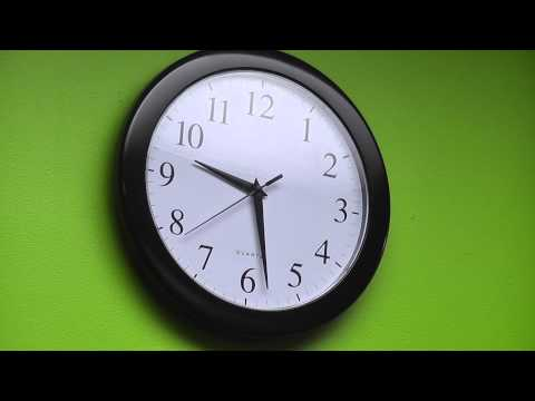 Clock Ticking For One Minute video