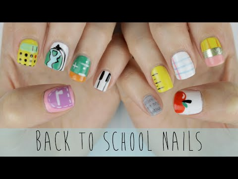 Back to School Nails: The Ultimate Guide! - Vissza az Iskolába Körmök