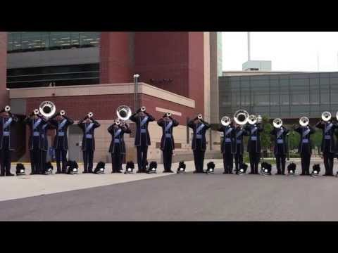 Bluecoats Hornline 2013 - Minneapolis, MN