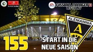 "Let's Play: Fussball Manager 13 [#155] - ""Start in die 3te Saison"" [HD] [Saison #03]"