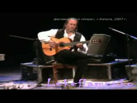 Concierto Paco de Lucia Kaluga con Montse Cortes y Chonchi Heredia 2007 3º