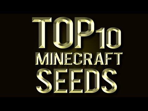Top 10 Minecraft seeds Best for 1.8 (2014) The Bountiful Update