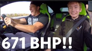 SCARING KIDS IN THE 671 BHP FOCUS RS!!!!!