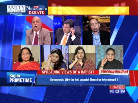 The Newshour Debate: Storm Over Interview Of Dec 16 Gangrape Convict (3rd March 2015) video