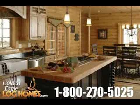 Luxury Log Home Amp Cabin Kitchens Youtube