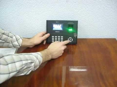 Система учета рабочего времени ZKTeco IN01-A.