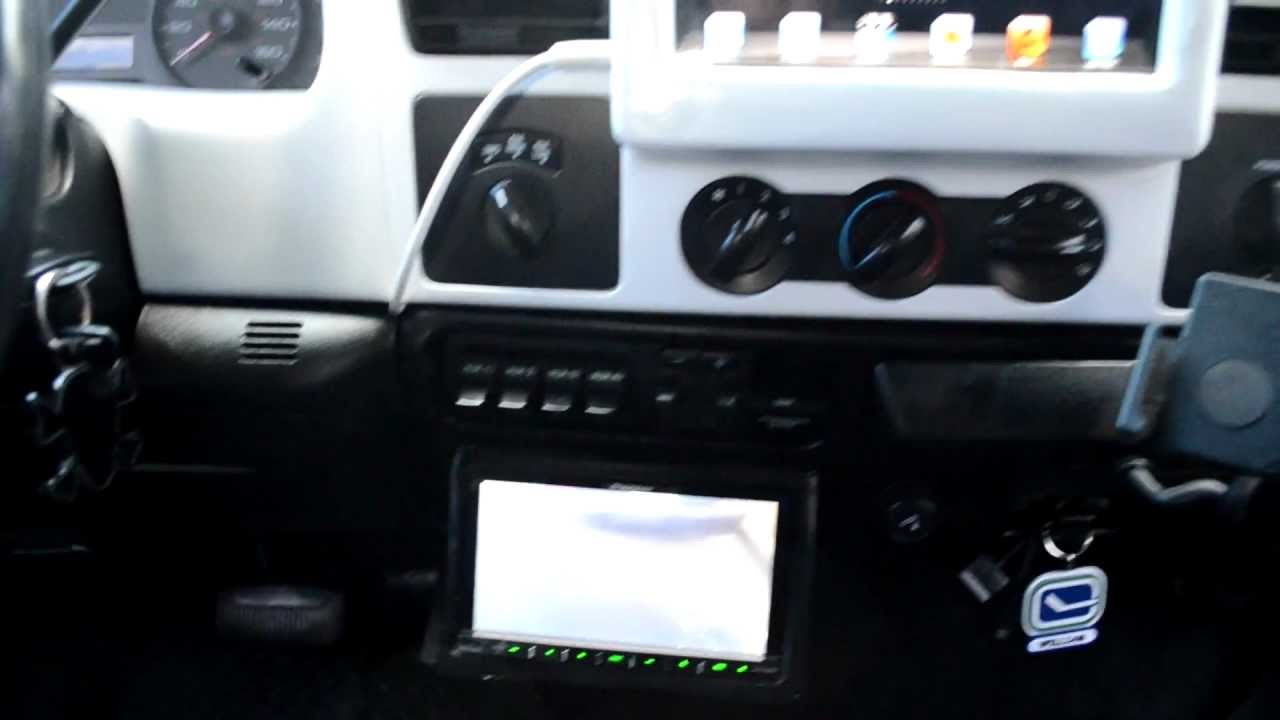 Ipad Dashboard  U0026 Stereo Ford Superduty F250 F350