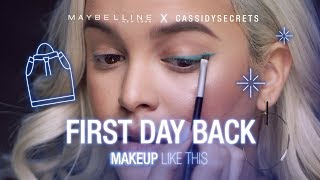 How To: Easy Winged Eyeliner Tutorial Ft. CassidySecrets | Maybelline New York