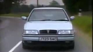 Old Top Gear - Rover 800 Series Coupe