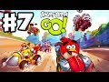 Angry Birds Go! Gameplay Walkthrough Part 7 - The Blues Are Awesome! Rocky Road (iOS, Android)